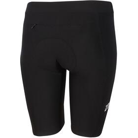 Zone3 Lava Shorts Dames, black/white